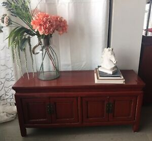 Chinese style cabinet  tv stand / bench