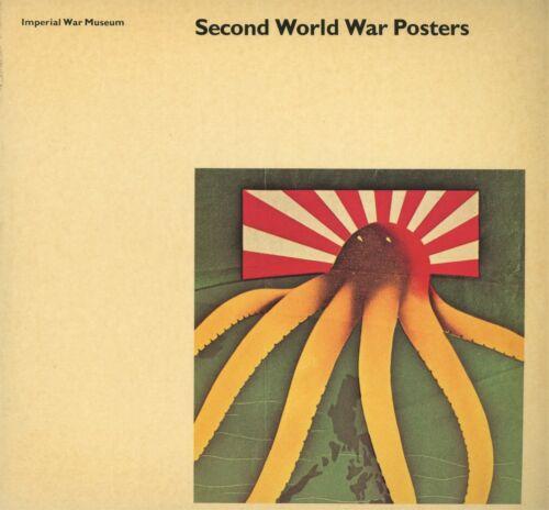 World War II Posters incl. Artists - American German Russian Etc. / Scarce Book