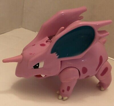 2000 Hasbro Pokemon Combat Figures NIDORINO Head Butting Action! RARE