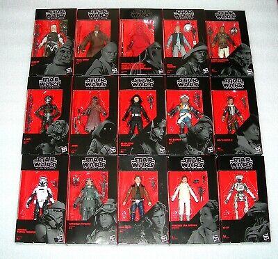 "Star Wars The Black Series Collectable 6"" Figures - Asst - NIP"