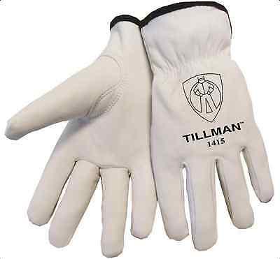 Tillman 1415 Unlined Top Grain Goatskin Drivers Gloves Medium