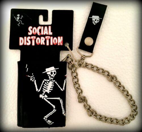 SOCIAL DISTORTION-SKELETON LEATHER WALLET
