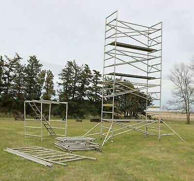 Up Right Inc Aluminum Scaffolding