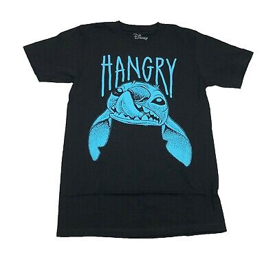 Disney Stitch The Alien Hangry Funny Men's T Shirt 2 Colors