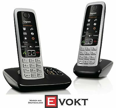 Siemens Gigaset C430A DUO DECT Cordless Landline Phone Answe