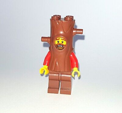 LEGO Mini Figur Gauner im Baumkostüm Baummann aus Set 60174 NEU / NEW Figure - Gauner Kostüm