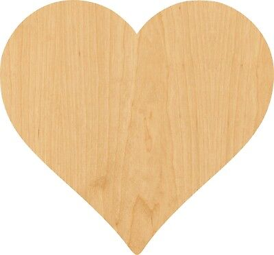 Heart Shapes (Heart Laser Cut Out Wood Shape Craft Supply -)