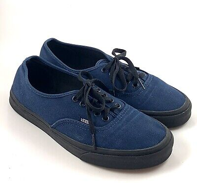 VANS Blue Canvas Sneakers Mens Size 9 Women 10.5