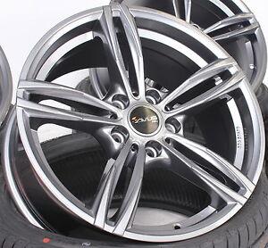 19 Zoll Alufelgen AC-MB3 Anthracite für BMW 5er F10 F11 6er F12 F13 M Design