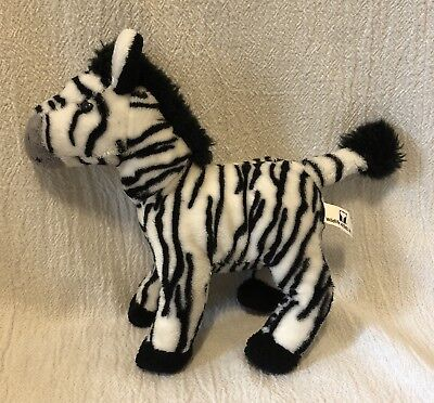Wildlife Artists Plush Beanbag Zebra 2011 for sale  Shipping to India