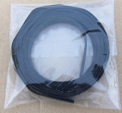 14 Inch X 8 Ft Black Heat Shrink Tubing 21 Shrink Ratio Polyolefin