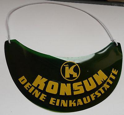Sonnenschirm Sonnenschutz Konsum   DDR Werbung