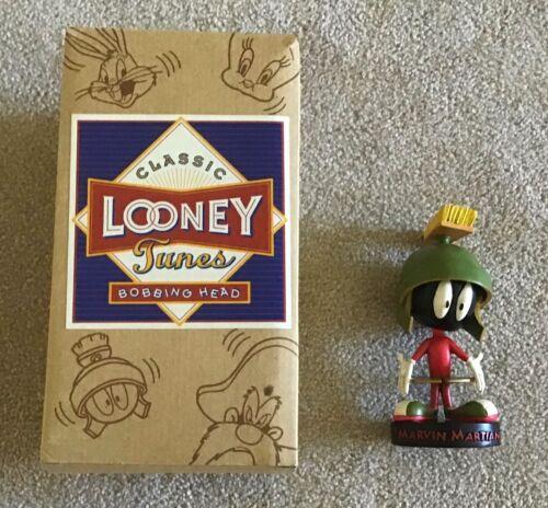 1993 Warner Bros. Looney Tunes Marvin Martian Head Nodder Boxed MIB