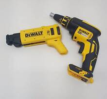 DEWALT (DCF620-XE) 18V CORDLESS DRYWALL AUTO FEED SCREW GUN AND ( Moonee Ponds Moonee Valley Preview