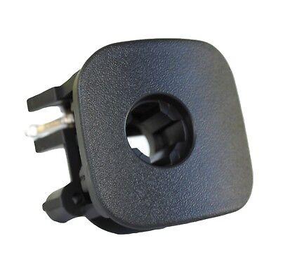 Black Glove Compartment Door Handle Replaces OEM Part 10328822 Fits C5 Corvette Glove Compartment Door