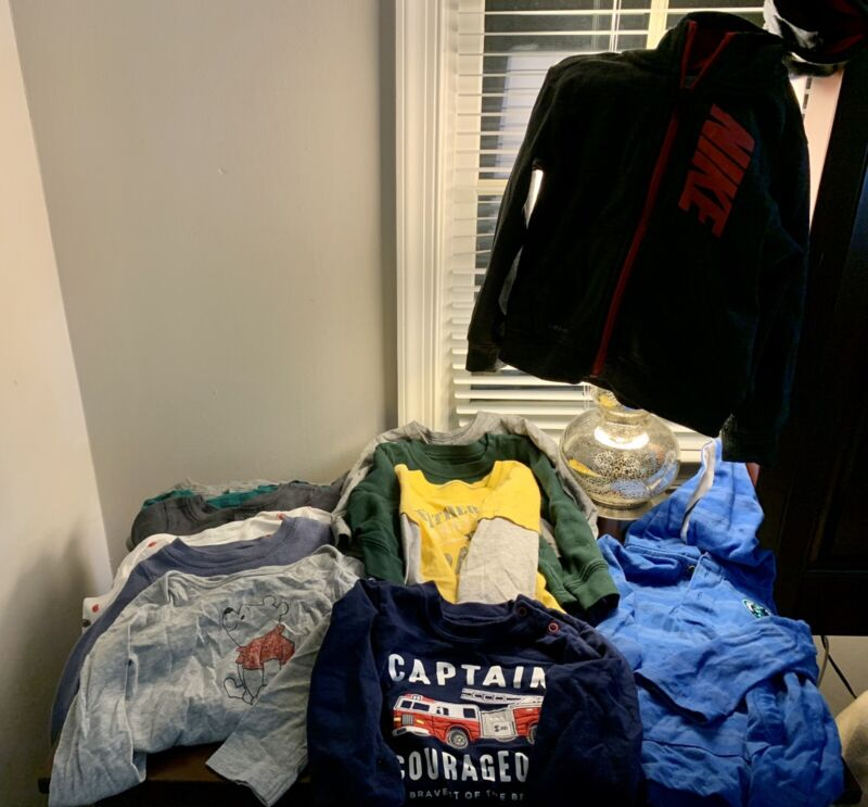 24 Month Baby Boy Clothing Lot 12 Pieces