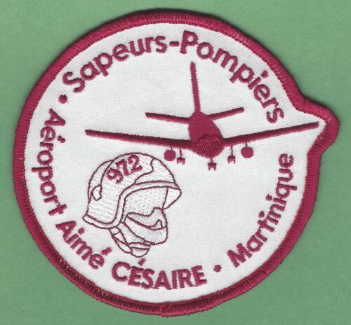 Martinique Aimé Césaire International Airport Fire Rescue ARFF Patch
