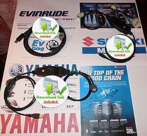 Yamaha-Evinrude-ETEC-Johnson-SUZUKI-Outboard-Diagnostic-set-BEST-BUY