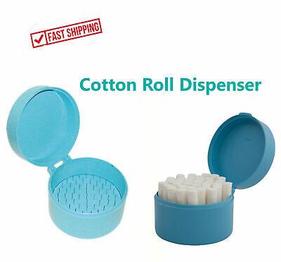 Cotton Rolls Dispenser Blue Or Cotton Rolls Dental Nails Soft - Us Seller