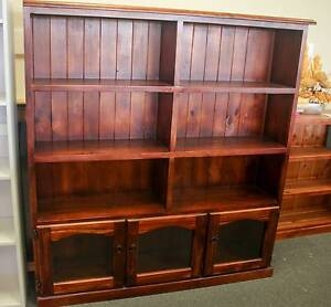 *CLEARANCE* SOLID PINE BOOKCASE Port Kennedy Rockingham Area Preview