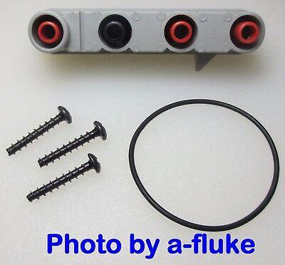 Fluke 83 85 87 88 87v 88v 787 Input Jack Receptacle Free Case Screws Seal
