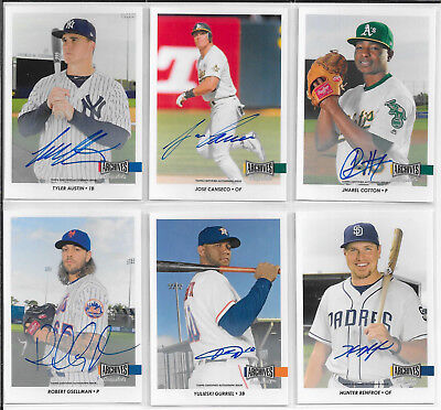 - 2017 Topps Archives Snapshots AUTOGRAPH/AUTO (Hand-Numbered on Back by Topps)
