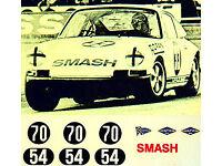 Porsche 914//6 Imsa Challange Winner 1971-1:43 Decal Abziehbild