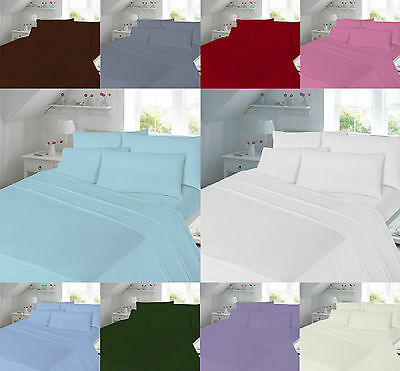 Luxury Cotton Rich Percale Flat Sheet 180 Thread Count Best quality all