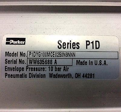 Parker P5e-j100fhe0250 Pneumatic Slide Unit 100mm Bore 250mm Stroke New - New
