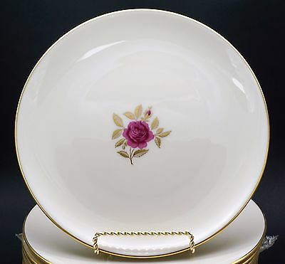 Lenox Roselyn Rose China Set of 12 Bread Plate Plates (6 3/8