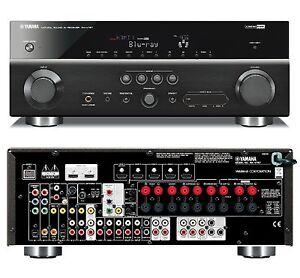 Yamaha rx v767 home cinema 7 1 3d av receiver 6 2 hdmi for Yamaha rx v450 av receiver price