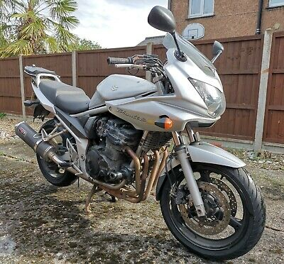 Suzuki Bandit GSF650 K5 Spares or Repair w/ top box.