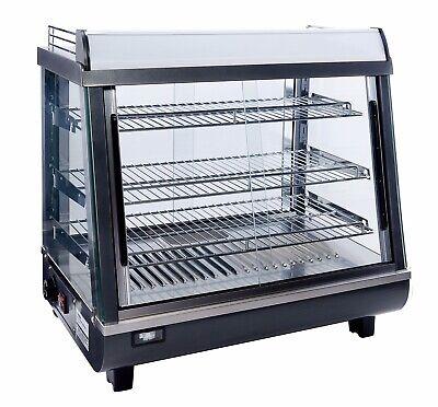 Countertop Heated Display Merchandiser Case Hot Food Case 26.5