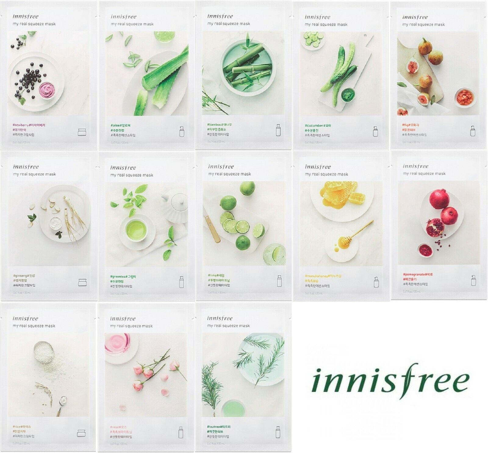 13kinds SETKorea Beauty CosmeticFace Mask Pack Sheet 20mlx13