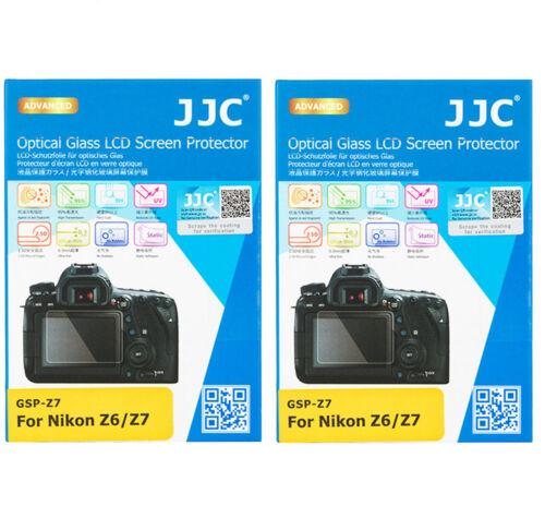 (2 Pack) JJC GSP-Z7 2.5D Tempered Optical Glass LCD Protector for Nikon Z5 Z6 Z7