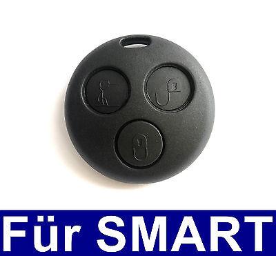 3Tasten Ersatz Auto Schlüssel Fernbedienung Gehäuse für Smart ForTwo MC01 450  Fernbedienung Autoschlüssel