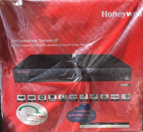 Honeywell 8-/16-Channel Full PoE Embedded NVR