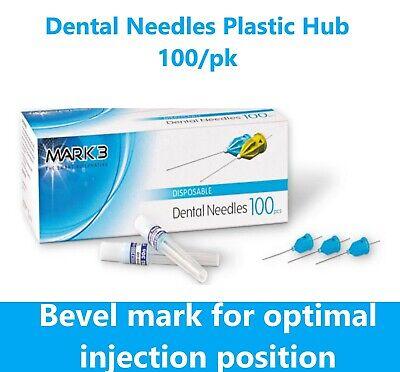 Dental Needles Plastic Hub Disposable 27ga Short 30 Ga Short Box100 4 Ga Sizes