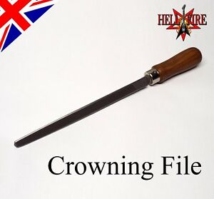 Fret-Crowning-File-Guitar-Bass-Luthier-Custom-Ground-Triangular-File