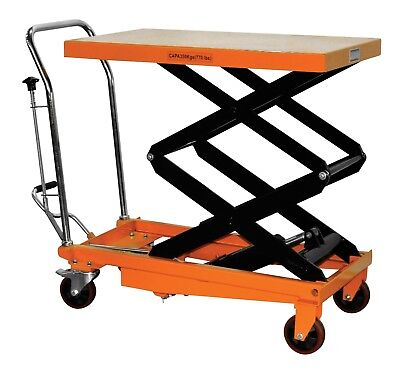Bolton Tools 770 Lb Hydraulic Double Scissor Lift Table Cart Tf35