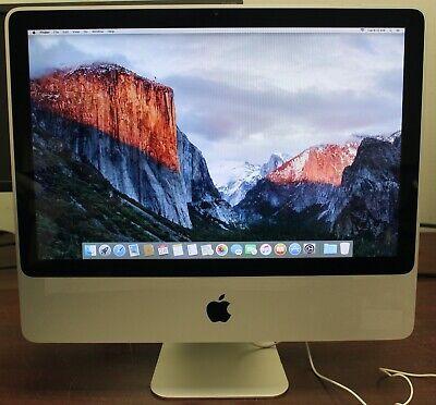 Apple iMac Mid 2009 Core 2 Duo 2.26GHz 4GB RAM 160GB HDD GeForce 9400 El Capitan