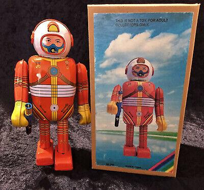 Roboter Space Man 22 cm silbergrau  1480438 Blechspielzeug