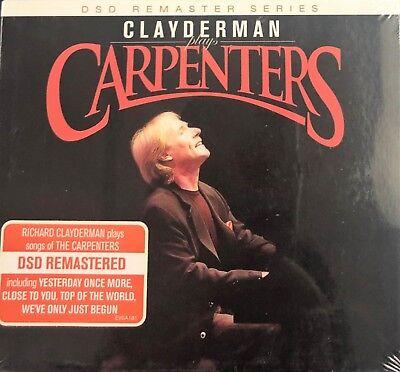 RICHARD CLAYDERMAN - PLAYS SONGS OF THE CARPENTERS 2012 (CD)