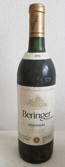 Rotwein-USA-BERINGER-ZINFANDEL-Jahrgang-1988