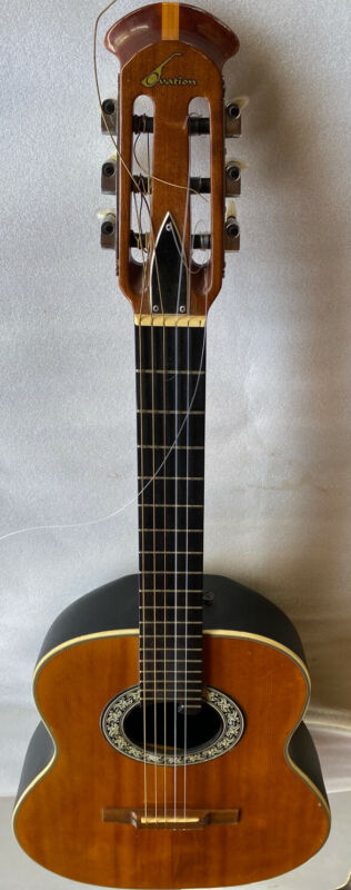 Rare USA Ovation 1116 Classical Guitar