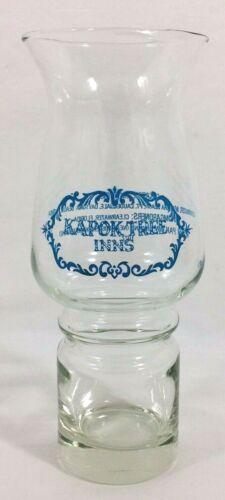 "Vtg 1977 Kapok Tree Inns Peter Pan Tiki Bar Frozen Drink Glass 7 3/4"" Tall EX"