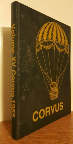 1985 Corvus  Ravenscroft School Yearbook, Raleigh, North Carolina.