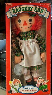 Vintage RAGGEDY ANN Doll PLAYSKOOL #70106 Christmas Edition!