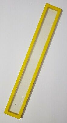 "BARBIE DOLL FURNITURE A-FRAME DREAM HOUSE 1978 REPLACEMENT 11.75"" YELLOW DOOR"