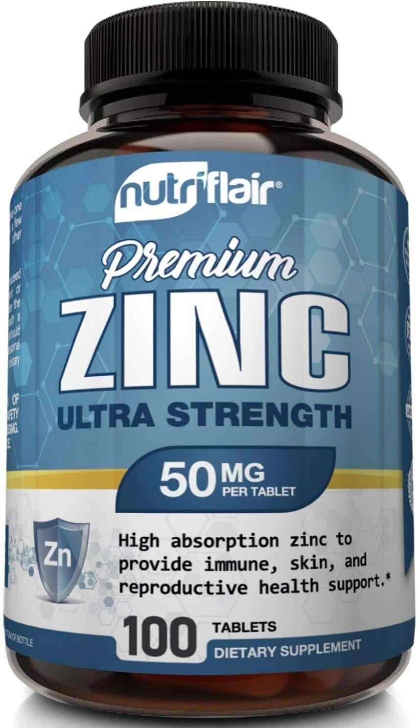 Potentes pastillas de zinc para fortalecer los pulmones y el sistema inmune